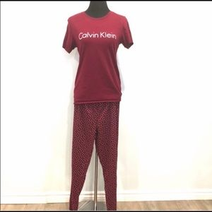Calvin Klein 2 pieces pjs set